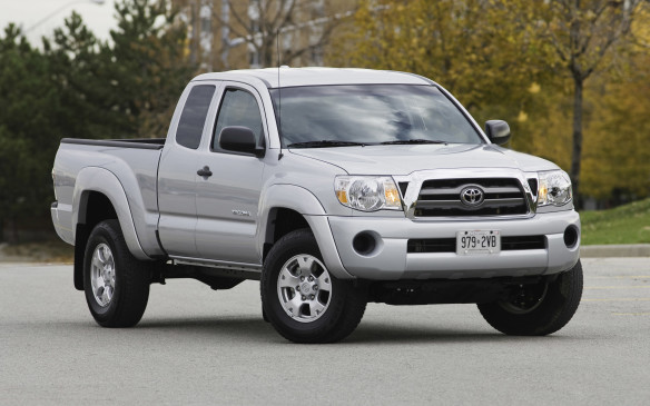 <p>Compact and mid-size pickups are starting to boom again, but for those wanting something used and smaller than an ocean liner, the Toyota Tacoma is arguably the best option. Sharing some bits with the legendary Hilux, but designed for North American tastes, the Tacoma is a tough, reliable and reasonably frugal – at least compared with the thirsty V-8s of its full size competition.</p>
