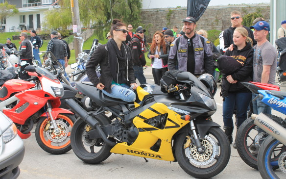 <p>Many motorcycle events are dominated by one maker or style of bike, but there are as many sport bikes at Port Dover as there are V-twins.</p>