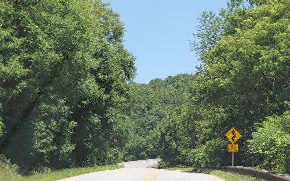 <p>There are many other roads in the western Smokies that are just as enjoyable, and less crowded. This is the Cherohala Skyway.</p>