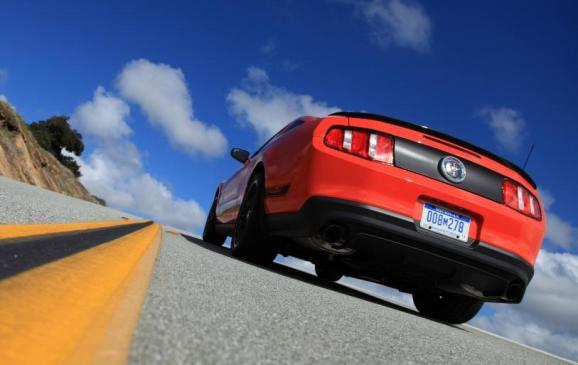 2012 Mustang Boss 302 - Rear