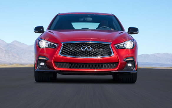 <p>The 208 hp 2.0L inline-four is less thirsty, and the 3.5L hybrid even more frugal, but they sell only a small proportion of all Q50s – perhaps 10% for the 2.0L and less than 3% for the hybrid. The 3.0L V-6 accounts for about half of all Q50 sales, and the Red Sport makes up the difference.</p>