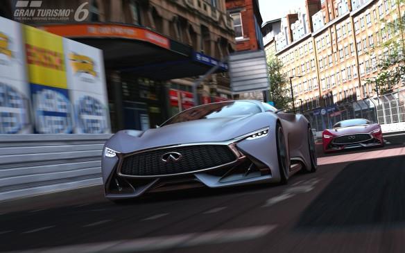 <p>Infiniti Concept Vision Gran Turismo</p>