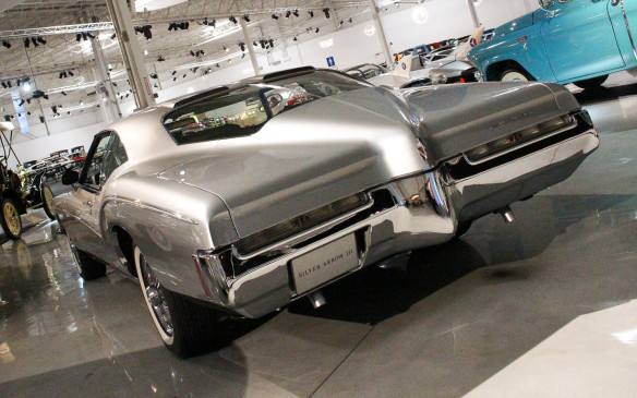 <p>Buick was represented by this 1972 Buick Silver Arrow III concept car, which was actually based on a production Riviera with a lowered roofline and added features.</p>
