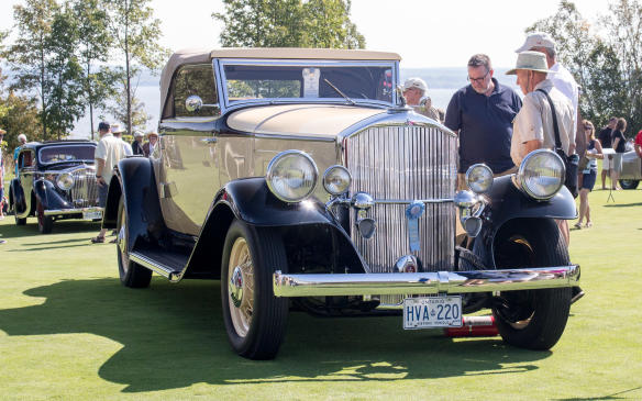 <p>This Canadian-built 1932 Series 54 Convertible Coupe is one of just three remaining Pierce-Arrows known to have been built at the Studebaker plant in Walkerville, Ontario. For a brief period, Studebaker owned Pierce-Arrow.</p>
