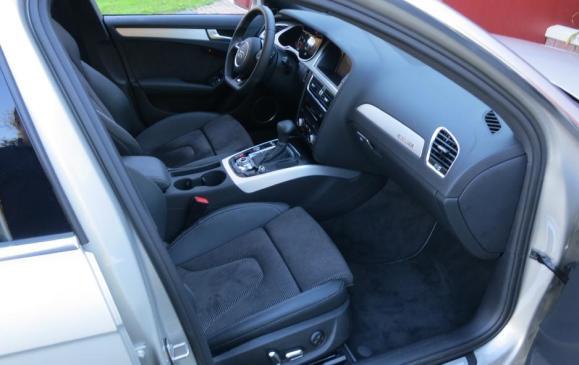 2013 Audi A4 - front seats