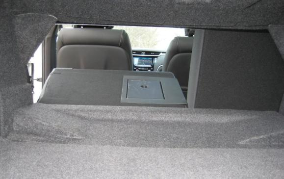 2013 Cadillac XTS - trunk with seatback folded
