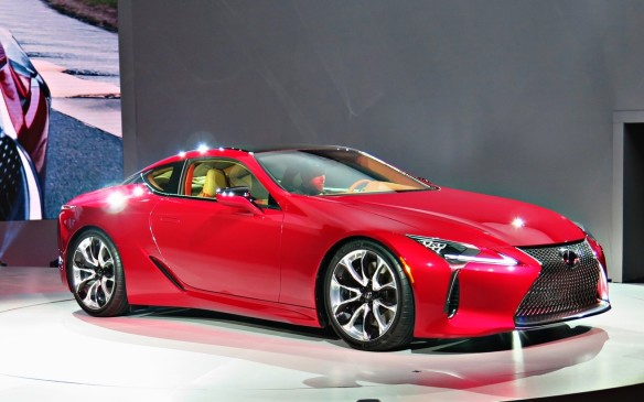 <p>Lexus LC 500</p>