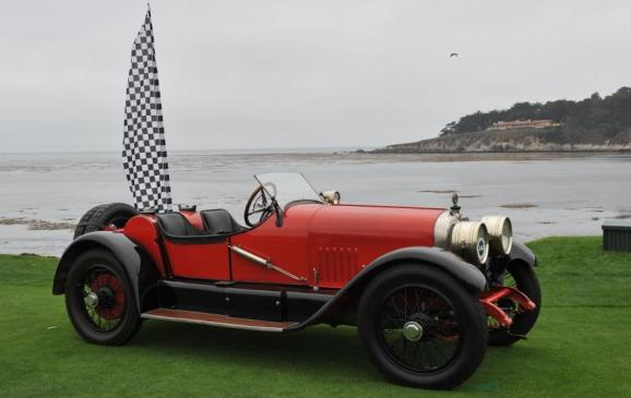 Old Cars - 1921 Mercer Series 5 Raceabout