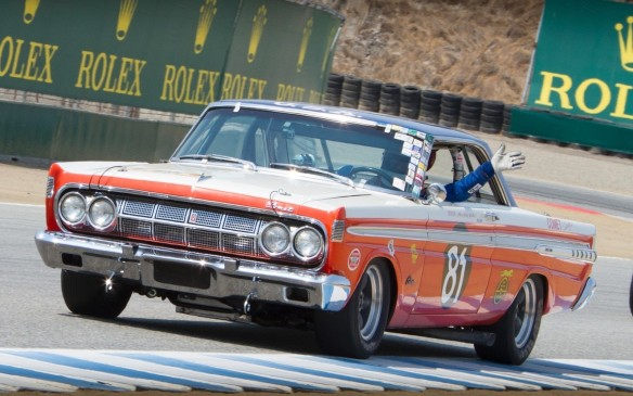 <p>Some relative oddballs like this rare Mercury Comet racer...</p>