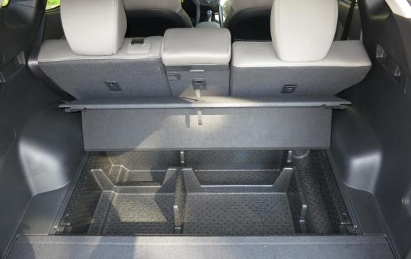 2013 Hyundai Santa Fe Sport - rear cargo and storage bins