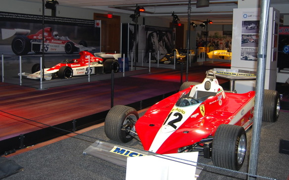 <p>Canada's racing Villeneuve family is alive in this room, through photos, videos and vehicles.  From personal vehicles to racing cars, they are here.  Don't forget about the race tracks that hosted these greats; Canadian Tire Motorsport Park and Circuit Gilles Villeneuve are also on hand showcasing short documentaries.  If you can spare some time, take a seat and watch history unfold on the big screen.</p>