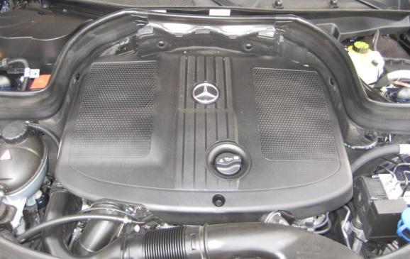 2013 Mercedes-Benz GLK 250 - engine cover detail