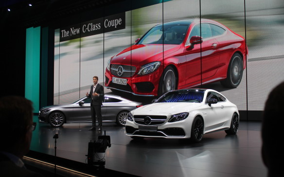 <p>Removing two doors, resulting in the Mercedes-Benz C-Class coupe, makes the car much sexier. It's a little longer and wider than the previous generation, and will come on sale early next year.</p>
