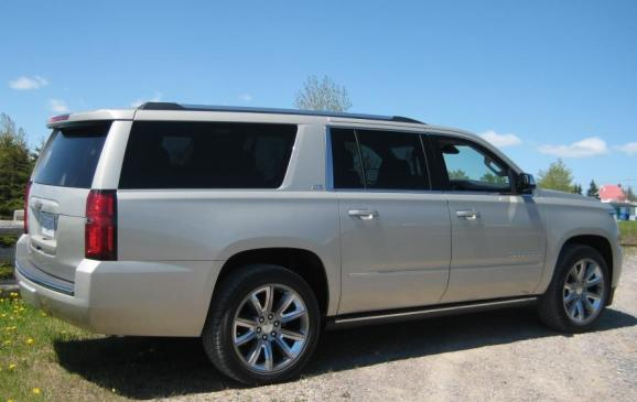 2015 Chevrolet Suburban - rear side view low