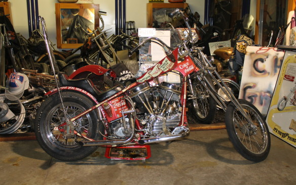 "<p>Coca-Cola was concerned this 1970s chopper would ""lead to the dilution of the distinctiveness of 'Coke',"" and asked the builder to stop calling it ""the Coke Machine.""</p>"