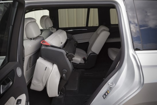 2013 Mercedes Benz GL350 rear seat
