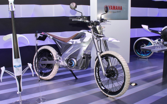 <p>Yamaha's electric motorcycle is for city riders who want more than a bicycle but not something as large as a conventional motorcycle.</p> <p> </p>