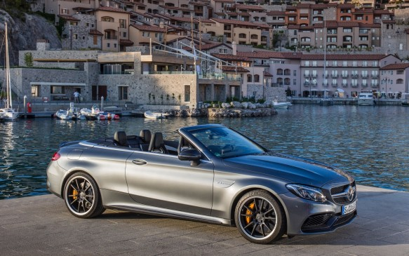 <p>There are three and one-half versions of the 2017 C-Class Cabriolet. The entry level C 300 with the turbocharged 2.0-litre four-cylinder engine introduced in the most recent C 300 sedan is paired with a nine-speed automatic and 4Matic AWD. Frugal, quiet and smooth it produces 240-horsepower, enough to get the car to 100 km/h from rest in 6.5 seconds.</p>