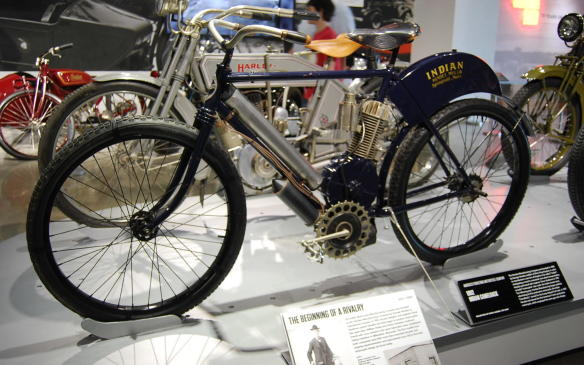 <p>Originally founded as the Hendee Manufacturing Company by George Hendee to manufacturer bicycles, the Indian Motorcycle Manufacturing Company began producing motorcycles in 1901 with bicycle designer and engineer Oscar Hedstrom.</p>