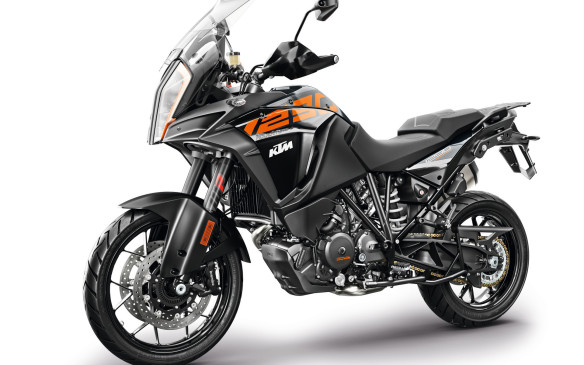 <p>A much more powerful and sophisticated adventure bike is KTM's 1290 Super Adventure. It replaces last year's 1190 Adventure by adding 100 cc to the V-Twin engine (which is actually 1,301 cc now) and an extra 10 hp. There is also an R version and a T version, more oriented to either off-road or asphalt respectively.</p>