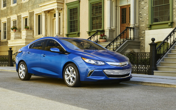<p>All-new for 2016, the second generation Volt plug-in hybrid is built on the same architecture as the Chevrolet Cruze and Buick Verano. It's sleeker, lighter, more powerful and more economical than the car it replaces... and it will go significantly further on electric power alone.</p>