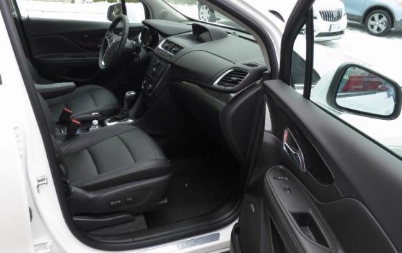 2013 Buick Encore - front seats
