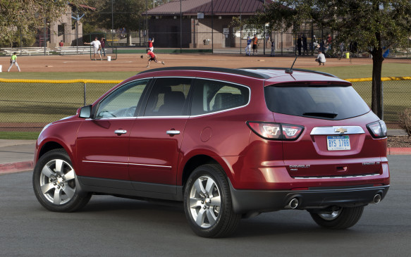 <p><strong>2009-13 Chevrolet Traverse</strong></p> <p>The weighty Traverse had great highway manners, but owners paid at the gas pump: 12.5 L/100 km was significantly less than GM's minivans could muster. Alarmingly, power-steering pumps can fail or work intermittently, causing some drivers to panic when the steering wheel becomes difficult to turn. The V-6's timing chain can reportedly stretch, tripping engine-warning lamps and causing drivability issues. The automatic transmission may develop faults and fail completely. The Traverse shares these shortcomings with its brand mates: the Buick Enclave, GMC Acadia and Saturn Outlook.</p>