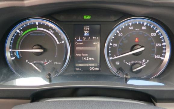 2014 Toyota Highlander - instrument cluster