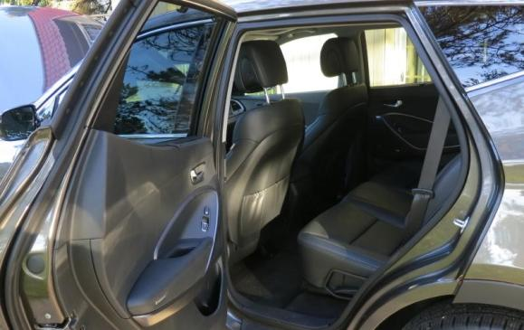 2013 Hyundai Santa Fe Sport - rear seats