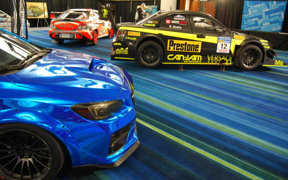 <p>The Tuner Battlegrounds competition has been ongoing forfive years and attracts entrants from all over the U.S and Canada. It features modified cars that battle for tuner supremacy, online. The car with the most votes moves on to the next round.</p>