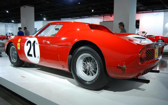 <p>It was driven to overall victory at Le Mans in 1965 by Jochen Rindt and Masten Gregory, the last of six consecutive Ferrari victories in the 24-hour classic, before the Scuderia was overpowered by the Ford onslaught.</p>