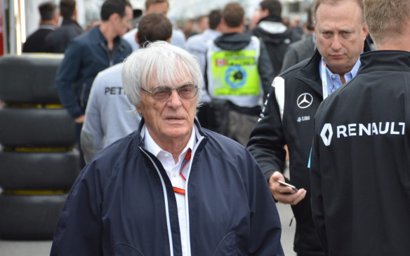 <p>Of course, Formula One <em>major domo </em>Bernie Ecclestone was there. He's 85 years old but he's still very much in control of the show.</p>