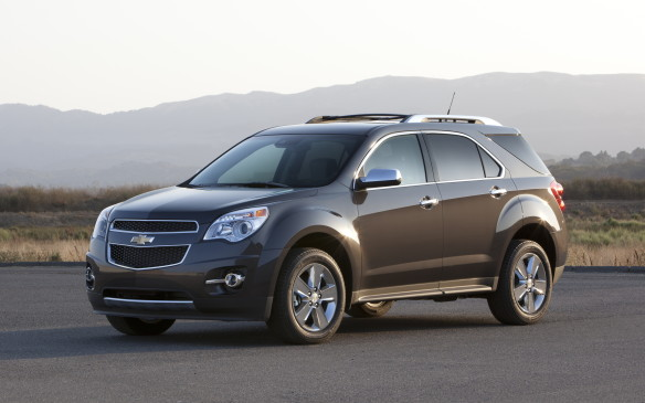<p>Chevrolet's Canadian-built Equinox tied for first place with the Ford Escape in the compact SUV category.</p>