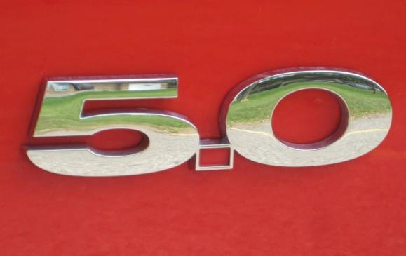 2013 Ford Mustang GT convertible - engine badge