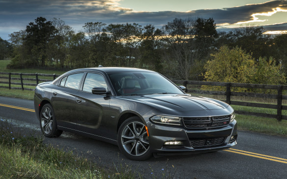 <p>With its fat haunches, bunker-like windows and massive tires, the Dodge Charger intimidates like no other. It has a bright future in law enforcement – and as a menacing civilian ride, too. There's no law against driving a bad-ass cop car, one that can coerce traffic to part like the Red Sea when drivers spot the Charger's angry glare. You can't put a price on driving satisfaction like that. For 2015, the Charger is thoroughly updated with new fascias, a smooth eight-speed automatic transmission across the range and a renovated interior with higher-quality materials and more advanced electronics. And it's made right here in Canada.</p>