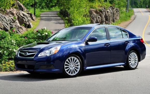 2011 Subaru Legacy 2.5 GT - Front
