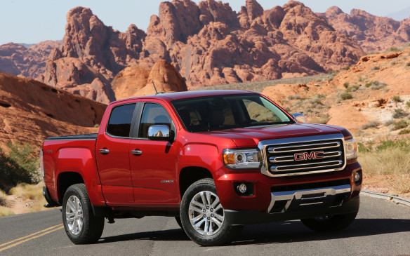 <p>GM's mid-size pickups, introduced last year to considerable success, get the option of a diesel engine for 2016 – a 2.8-liter four-cylinder turbo built in Thailand, rated at 181 horsepower and 369 lb-ft of torque. It's available only on crew-cab models of the Canyon and its Chevrolet Colorado sibling.</p>