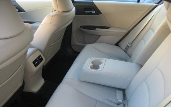 2013 Honda Accord sedan - rear seat