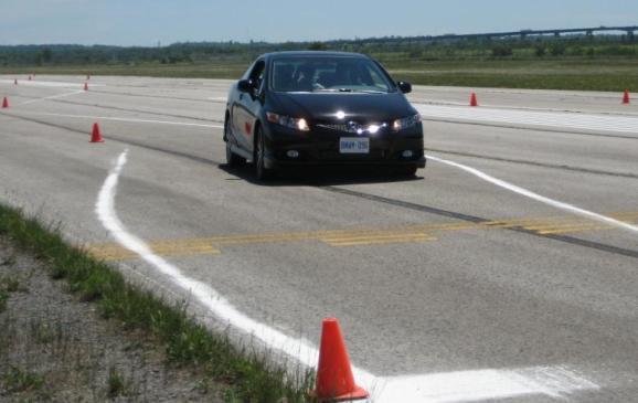 2012 Honda Civic Si HFP - on track 2