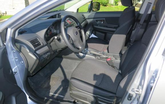 2013 Subaru Crosstrek - front seats