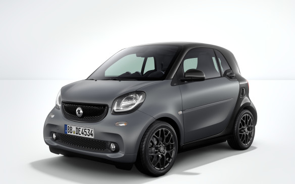 <p>Built on a new platform, developed in conjunction with Renault for that brand's Twingo model, the new Smart gets more muscle for 2016, along with a choice of new manual or automatic transmissions. To ensure stability on windy days, the Smart is now equipped with a cross-wind assist system.</p>