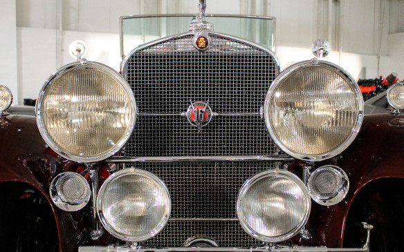 <p>Cadillac was one of only two automakers, along with Marmon, ever to offer V-16 engines. (The Bugatti Veyron's engine is a W-16.) The Cadillac V-16, introduced in 1930, was a narrow-angle (45<sup>o</sup>), overhead-valve design displacing 452 cubic inches (7.4 liters). Cadillac continued to build V-16's, including a second-generation version, until 1940.</p>