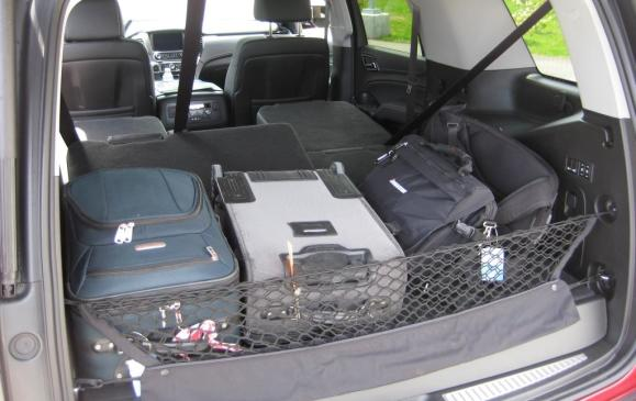 2015 Chevrolet Tahoe - cargo hatch loaded