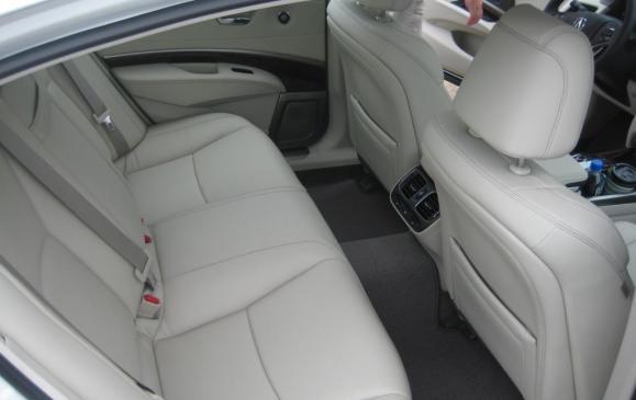 2015 Acura RLX - rear seat