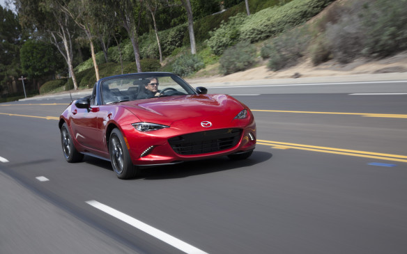 <p>With complex curves and a look that could grace a Ferrari or Jaguar F-Type, the all-new, fourth-generation MX-5 has the engineering to match its style. You can bet there'll be lineups to get behind its wheel.</p>
