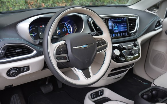 <p>The Pacifica Hybrid provides a quiet and peaceful ride. Behind the wheel you don't feel much of its considerable weight and thanks to the inherently high initial torque output of electric motors, the minivan pushes off the line quickly. Chrysler has applied plenty of sound absorption to achieve a low NVH level for the ride.</p>
