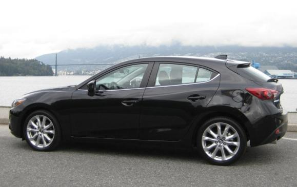 2014 Mazda3 - side view