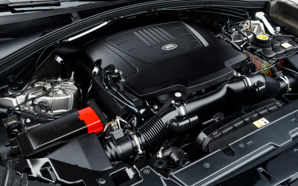 <p>The 3.0-litre, supercharged V-6 under the hood, codenamed P380, is a feisty engine with just a sweet wail in full acceleration. It generates 375 hp at 6,500 rpm and 332 lb-ft of torque from 3,500 rpm, channeled through a tight 8-speed automatic gearbox by ZF. It's good for 0-100 km/h in 5.7 seconds. The aluminum paddles behind the wheel, with the   and – symbols knocked out, are a cool touch, both ways. The four-cylinder diesel makes 177 hp at 4,000 rpm and 317 lb-ft of torque at 1,500 rpm with a variable geometry turbo, for a 0-100 dash in 8.9 seconds.</p>