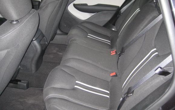 2013 Dodge Dart Rallye - rear seat