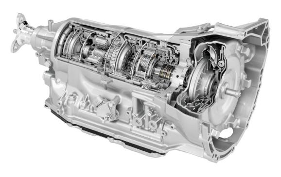 2014 Cadillac Eight-Speed Automatic Transmission